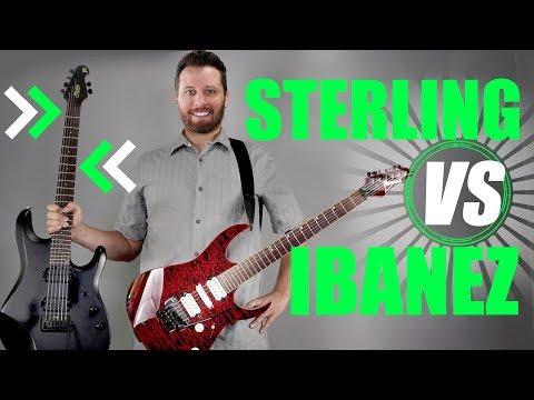 STERLING (Music Man) VS IBANEZ! - Prog Rock Shootout!