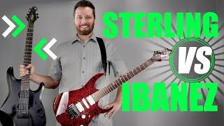 STERLING (Music Man) VS IBANEZ! - Prog Rock Shootout!