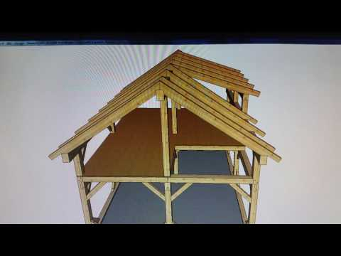 20' X 24' Timber Frame - Cabin