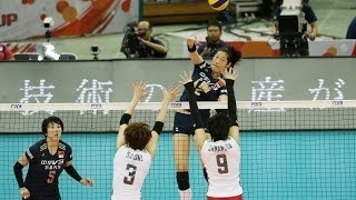 Japan vs China | 06 Sep 2015 | Final Round | 2015 FIVB Volleyball Women's World Cup