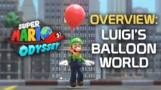 Luigi's Balloon World | New Donk City Gameplay (Super Mario Odyssey)