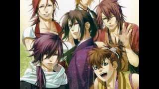 [AMV] Hakuouki Shinsengumi Kitan / Reimeiroku - Glad you Came