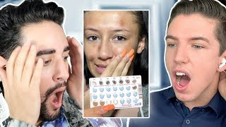 Reacting to TikTok Skincare Fails / Advice! Ft Hyram ✖  James Welsh