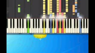 Baby can I hold you   Chapman Tracy [Piano tutorial by Synthesia]