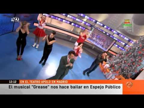 Grease, el Musical en Espejo Público (02-01-14)