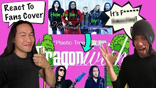 DragonForce Reacts to Fans Cover: Write a Nightwish Song in 10mins - Dragonwish Plastic Tree