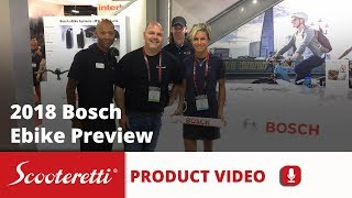 Bosch Ebike Systems (2018) - Active - Active Plus - Performance Drives