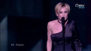 HD Patricia Kaas Et s'il fallait le faire LIVE performance final Eurovision Song Contest 2009 France