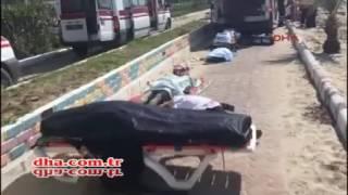 Kuşadası'nda mültecileri taşıyan bot battı
