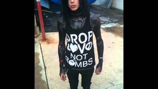 Andy Sixx/biersack from black veil brides growing up