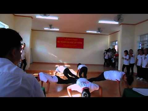 Nhảy aerobic lớp 10a1 thpt Tầm Vu 3 (2013-2014)
