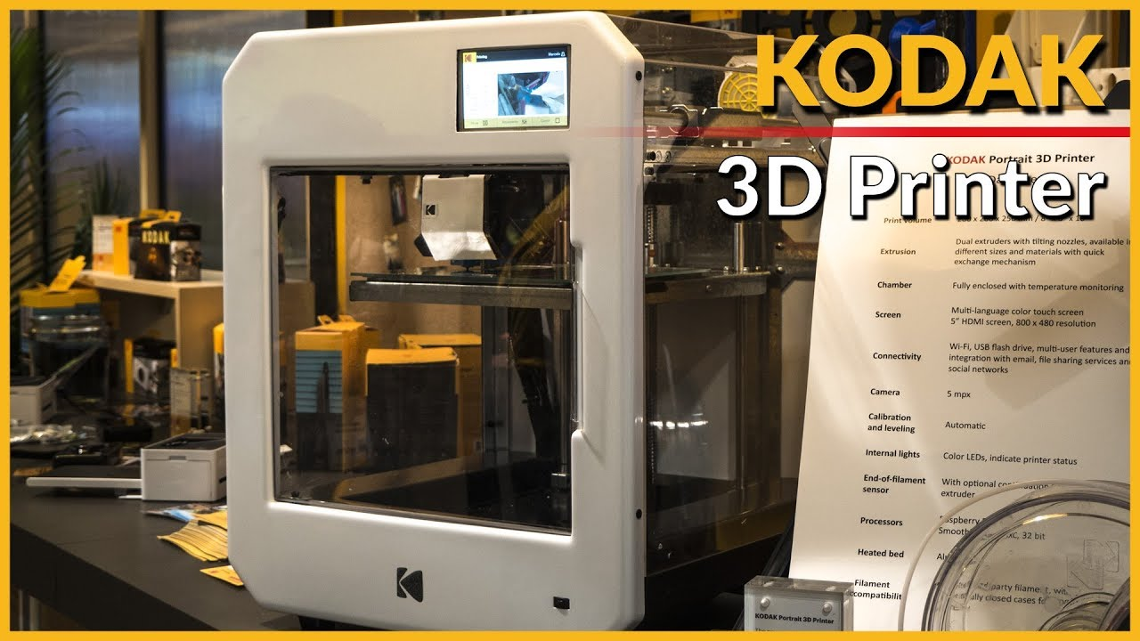 Kodak Portrait 3d Printer Ces 2018 Youtube Click Image For Larger Versionnamewiringeecivrelayjpgviews6987size