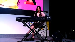 Video Isyana Sarasvati - Keep Being You (Live at LINE Creative Day) download MP3, 3GP, MP4, WEBM, AVI, FLV Februari 2018