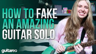 3 Ways to Fąke Amazing Guitar Solos!