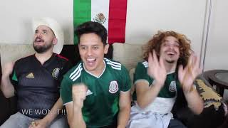 SUPEReeeGO! MEXICAN PARENTS REACT to MEXICO VS SOUTH KOREA 2018 World Cup