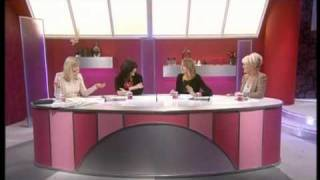 Loose Women - discussing the National TV Awards and not winning - 27th Jan 2011