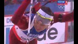 Бьорндален 2013-14 Оберхоф спринт