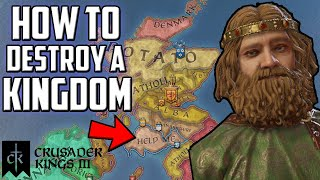 How To Lose Your Kingdom on Crusader Kings 3 (CK3 Gameplay)