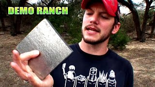Is Titanium Bulletproof?(Let's see how strong this stuff really is!!! Thanks to http://tactical-advantage-armory.com/ for sending the titanium!!! The BEST channel on youtube: ..., 2016-01-25T18:21:22.000Z)