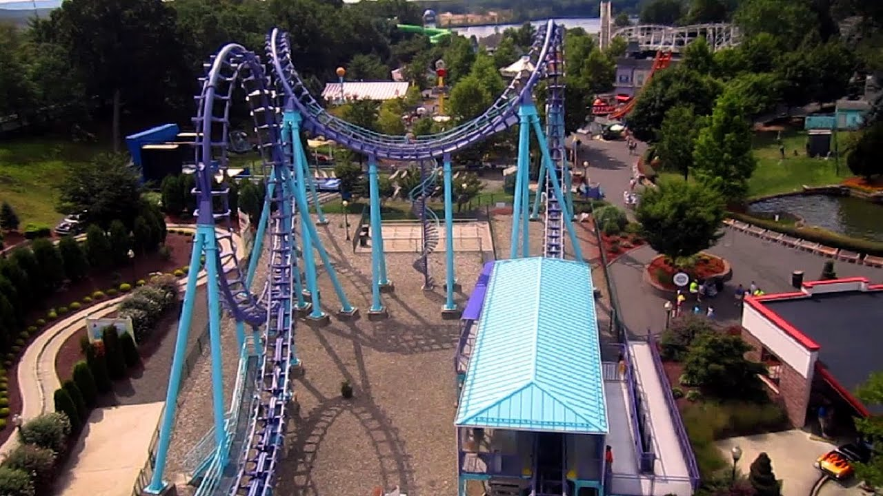 zoomerang front seat onride hd pov lake compounce youtube