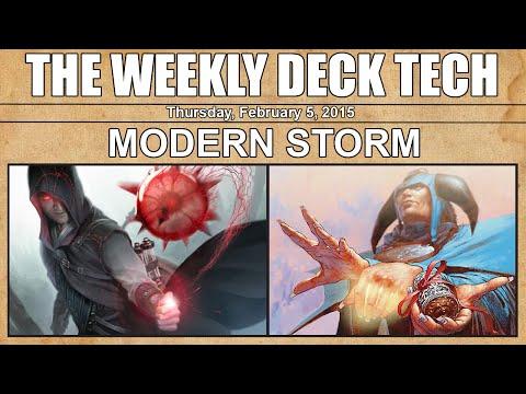 MTG Weekly Deck Tech: Modern Storm