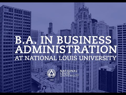 B.A. in Business Administration at National Louis University
