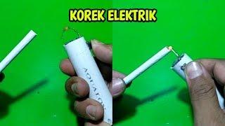 Cara Membuat Korek Elektrik Dari Barang Bekas
