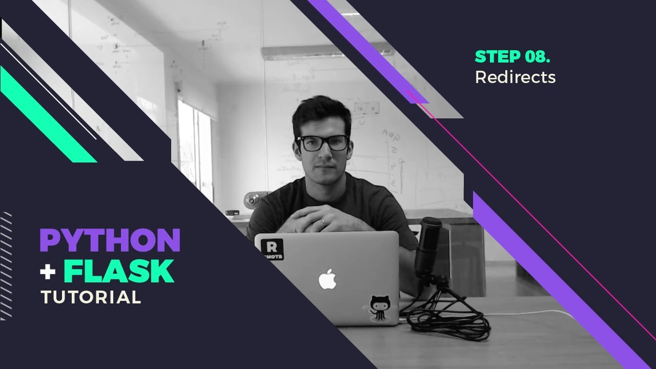 Flask Redirects Lesson - Flask Tutorial - Step By Step