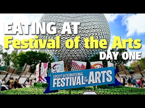 Eating at Epcot International Festival of the Arts | Day One
