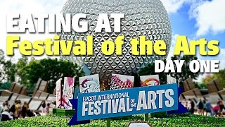 Eating at Epcot International Festival of the...