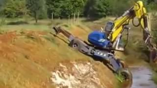 Трактор трансформер  Приколы с тракторами!