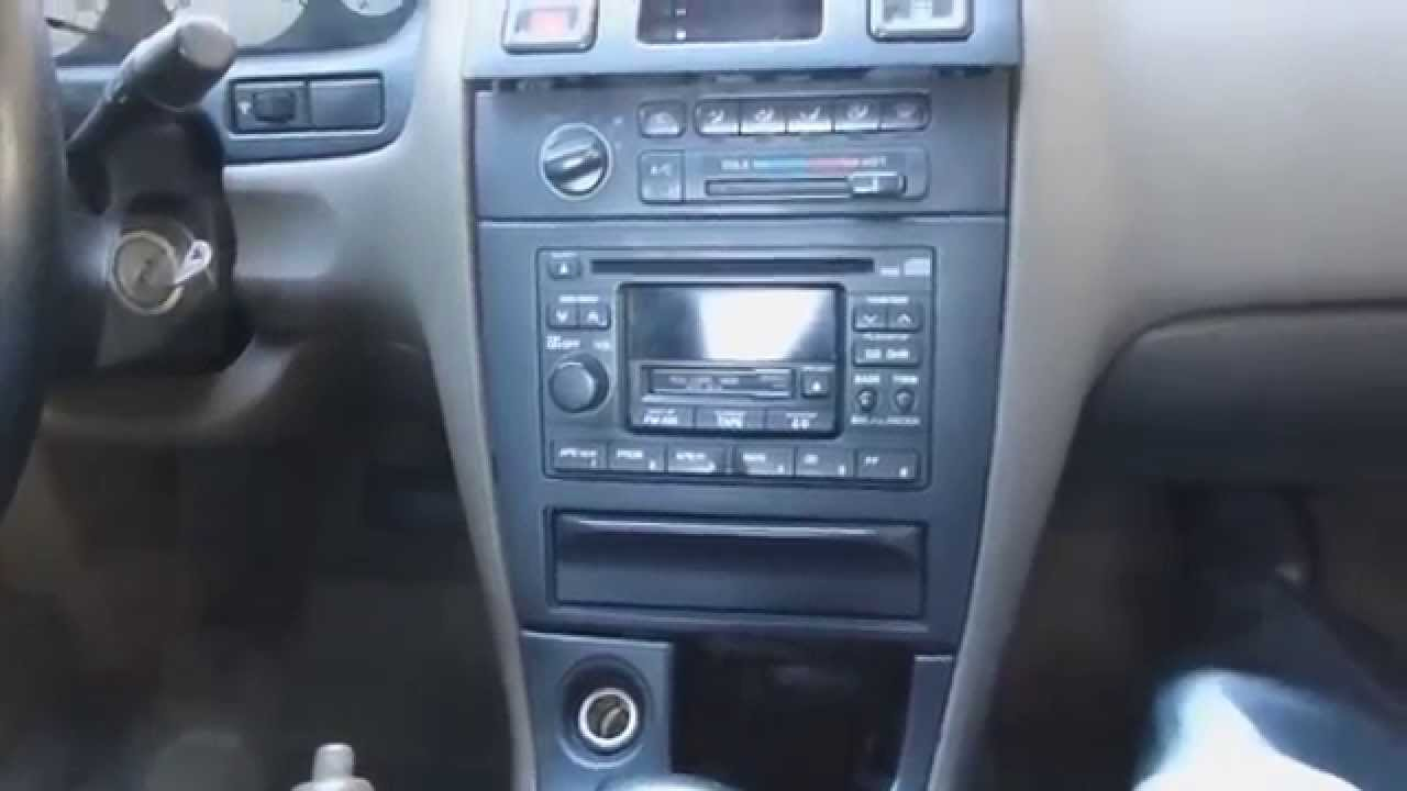 1995 1999 Nissan Maxima Radio Removal Youtube 96 Fuse Box
