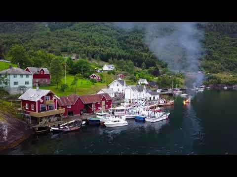 Norwegia z drona 2017