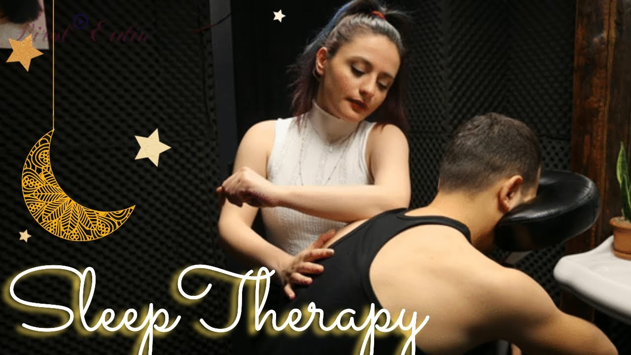 ASMR CHAIR MASSAGE FROM MELEK •ATTENTION CONTAINS EXTREME RELAXATION