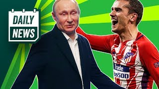 TRANSFER NEWS: Griezmann transfer decision update + World Cup 2018 News!► Daily Football News