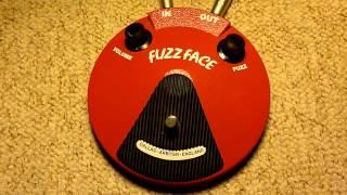 Dunlop Fuzz Face NKT275 re-issue