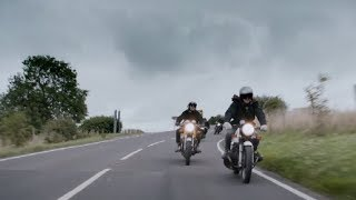 'For the Open Road' meets Goodwood - David Beckham goes Biker