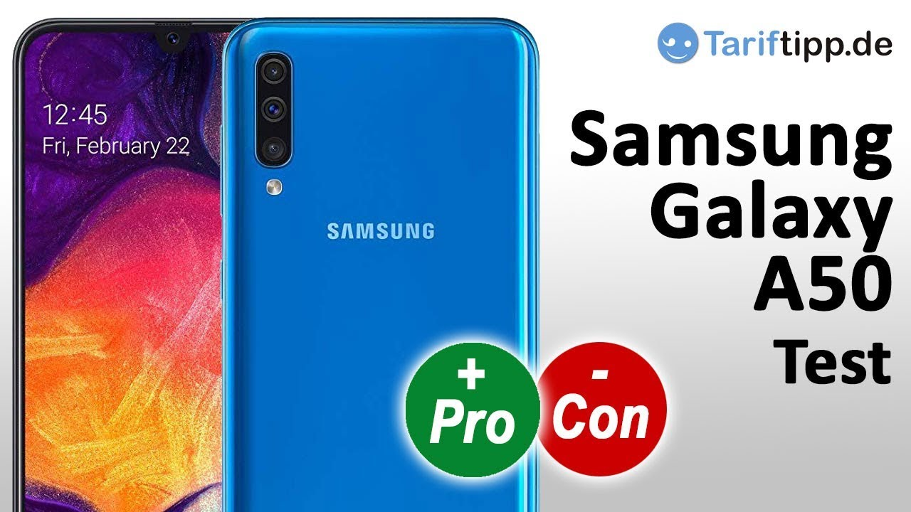Samsung Galaxy A50 | Test deutsch - YouTube