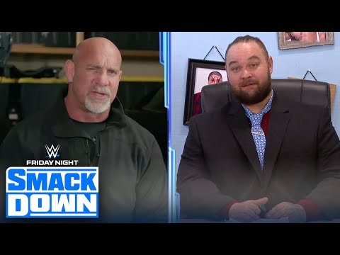 Goldberg returns to challenge The Fiend for the Universal Championship | FRIDAY NIGHT SMACKDOWN