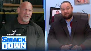 Goldberg returns to challenge The Fiend for the Universal Championship   FRIDAY NIGHT SMACKDOWN
