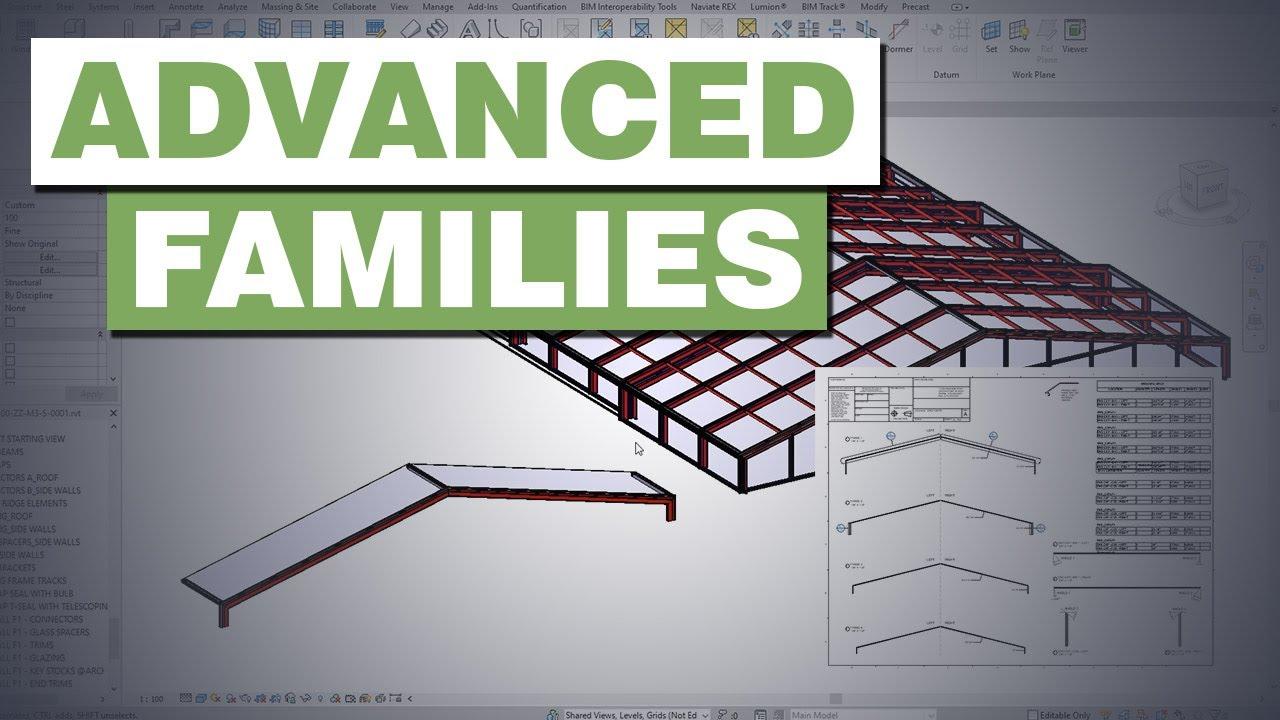 Advanced Revit Families for Manufacturing | Revit Structure