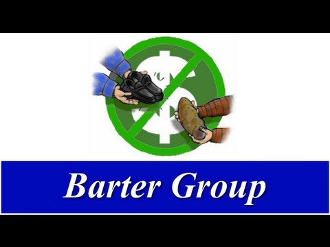 Trading Goods & Services - New Barter Group In Modesto, California