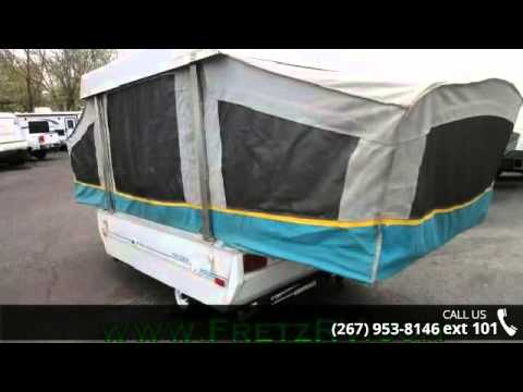 Used Campers For Sale In Pa >> Used 1993 Coleman Destiny Cedar for Sale Fretz RV Classified Ads Camper Trader - YouTube