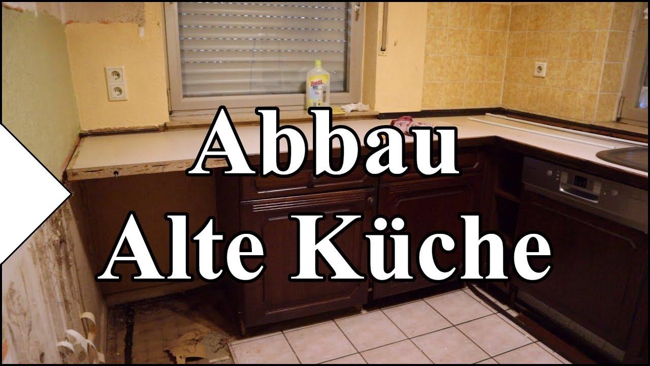 Abbau - Alte Küche  Garteneinkochfee Meine Küche