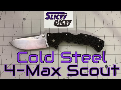 Cold Steel 4-Max Scout – Perfectly Ridiculous
