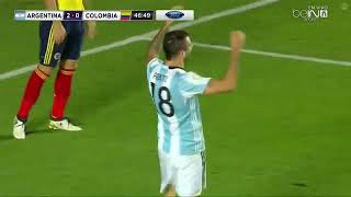 Argentina vs Colombia 3 0 Goal & Highlights |