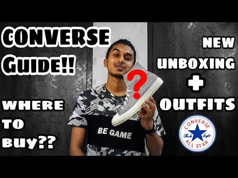 Where to buy CONVERSE Shoes in INDIA | Converse Guide | Converse outfits ideas | Unboxing Converse