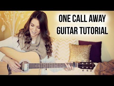 One Call Away - Charlie Puth // Guitar Tutorial