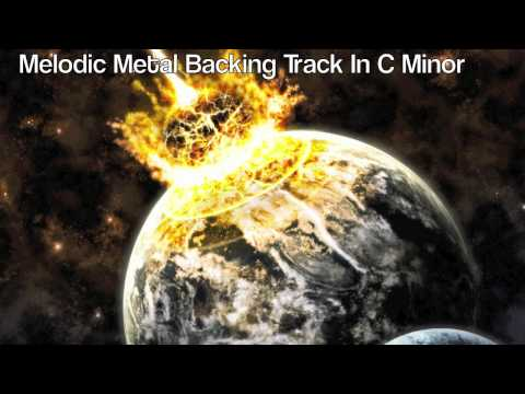 Melodic Metal Backing Track In C Minor