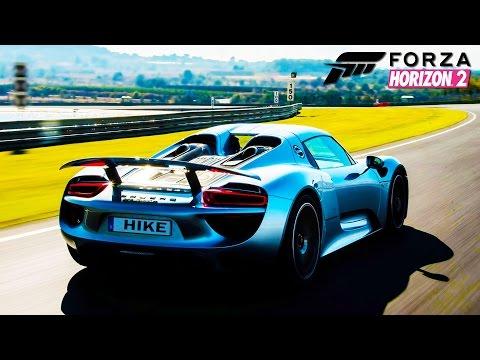 HikePlays: FORZA Horizon 2 Porsche 918 Spyder - Buying, Customizing & Racing - Forza Horizon 2
